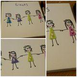 Friends 15cm x 15cm