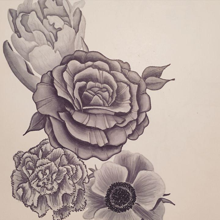 Gray Flowers - Tay Smith