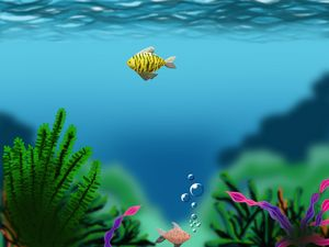 Under water life - shreya Arts