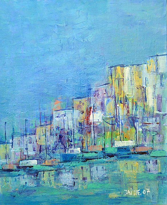 Le port - The harbor - Monikart - Monique Rouquier