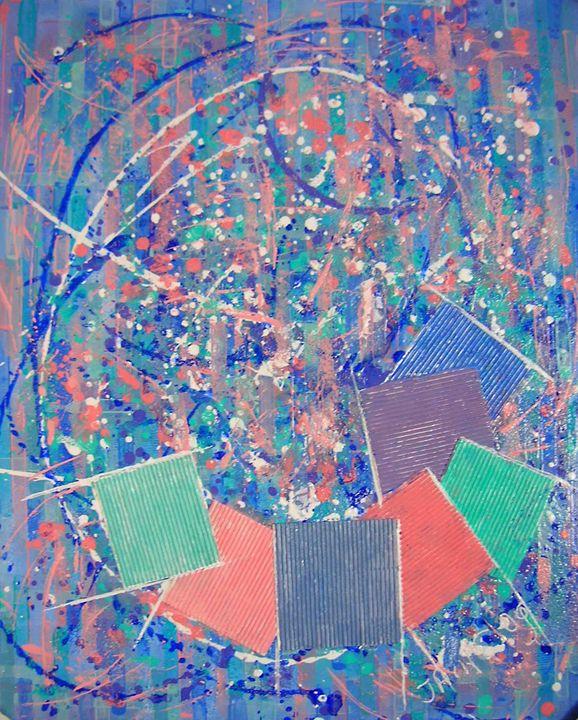 Palette picturale - Color palette - Monikart - Monique Rouquier