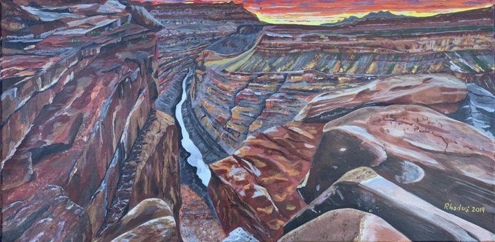Grand Canyon Dusk - Charles A. Rhodus