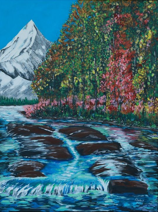 Alaska Summer - Charles A. Rhodus