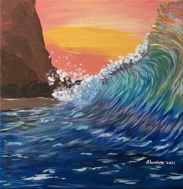 Hawaii Wave - Charles A. Rhodus