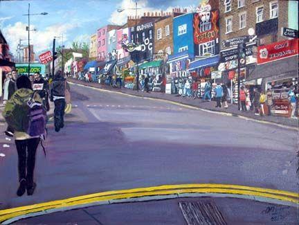 Camden High Street - jackienorman.art