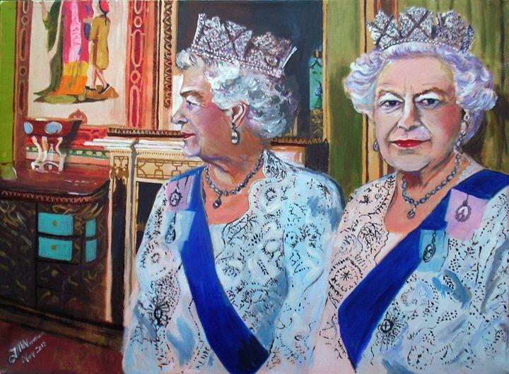 """Jubilee (Acrylic) 18"""" x 24"""" - jackienorman.art"""