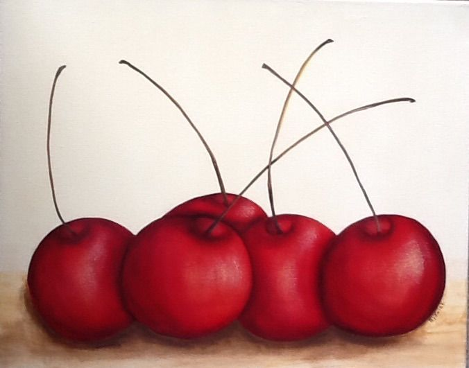 Cherries - Melba Mikulak