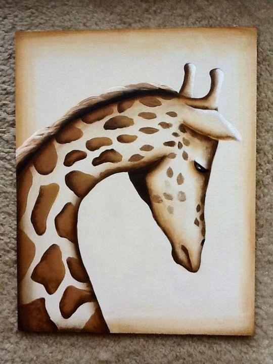 Giraffe - Melba Mikulak