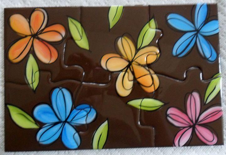 Coaster puzzle - Melba Mikulak