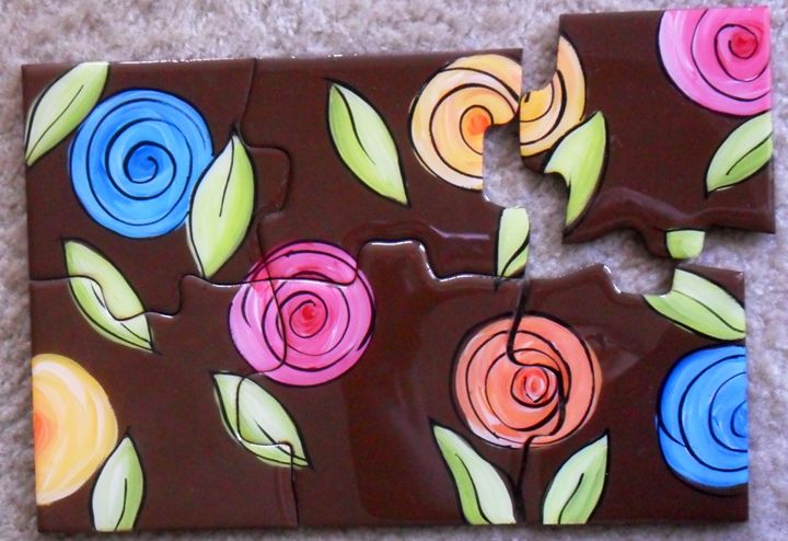 Coasters puzzle - Melba Mikulak