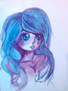 Watercolor Mermaiden