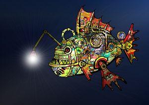Steampunk Deep Sea Preditor