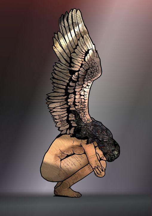 Sleeping Angel - Comic Art by BLZ Bob