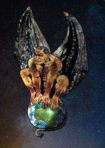 Evil World - Comic Art by BLZ Bob
