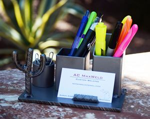 Desk Organizer/Business Card Holder