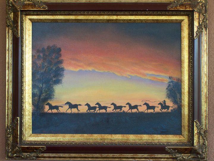 RUNNING WILD - Melvin E. Landry