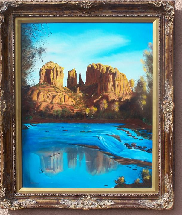 Cathedral Rock - Melvin E. Landry