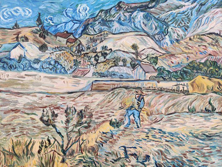 The Landscape at St.Remy - Vipul Gupta