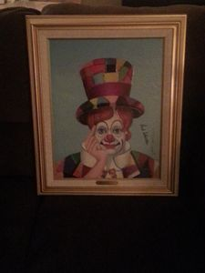 Crazy Quilt Clown