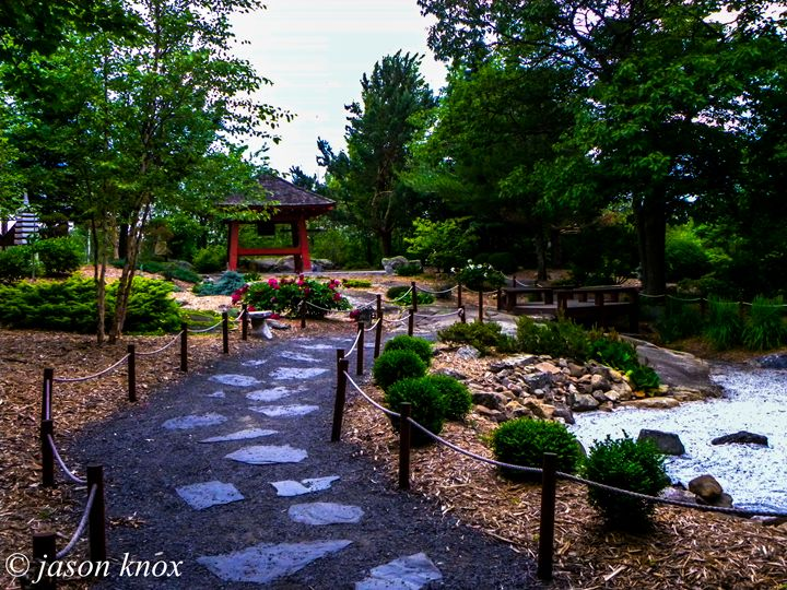 Japanese Garden - Knox works