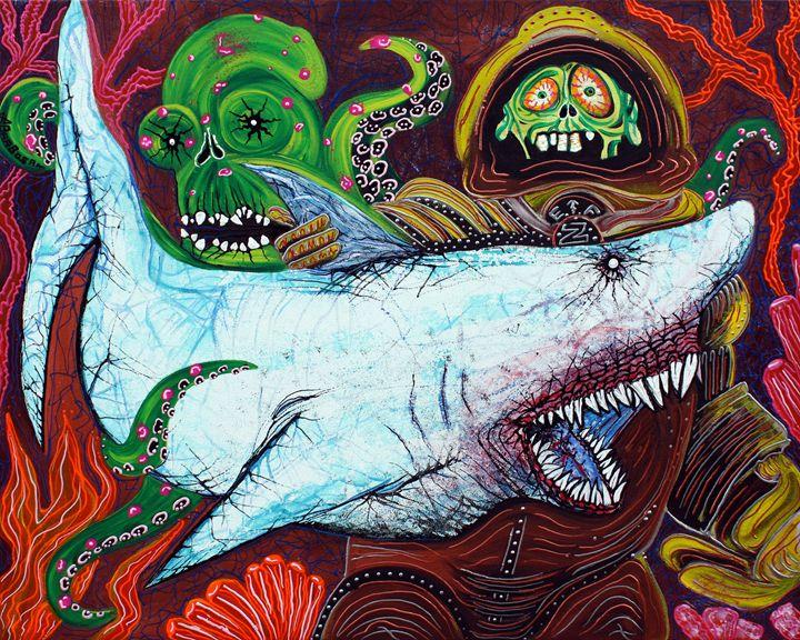 Creatures Of The Deep - Laura Barbosa Art
