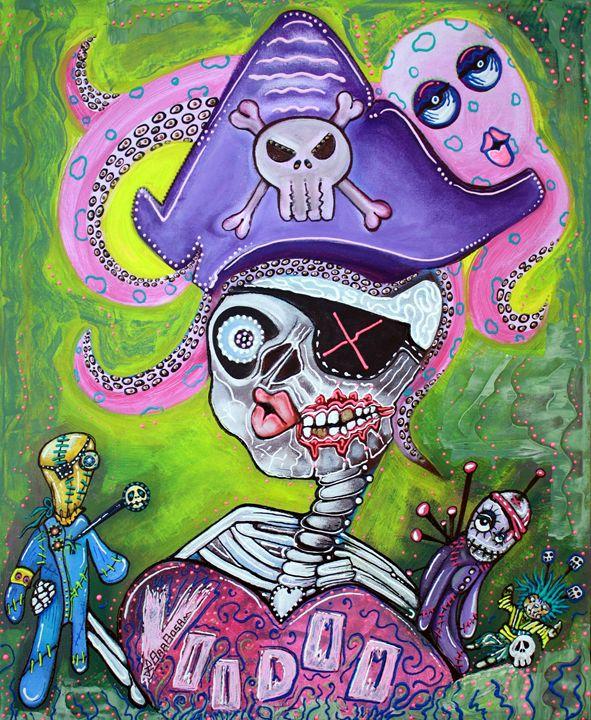 Pirate Voodoo - Laura Barbosa Art