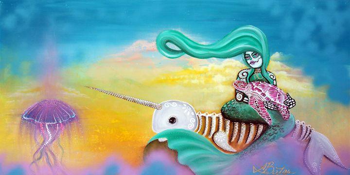 Sea Sky - Laura Barbosa Art