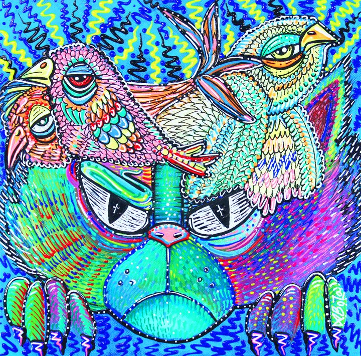 Psychedelic Vision - Laura Barbosa Art