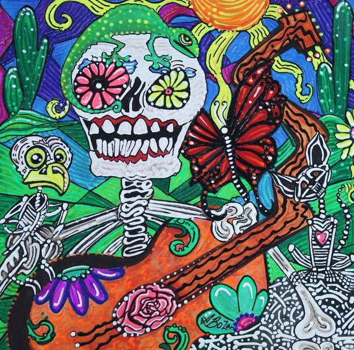 The Happy Dead - Laura Barbosa Art