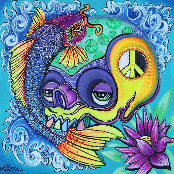 Dragon's Gate - Laura Barbosa Art