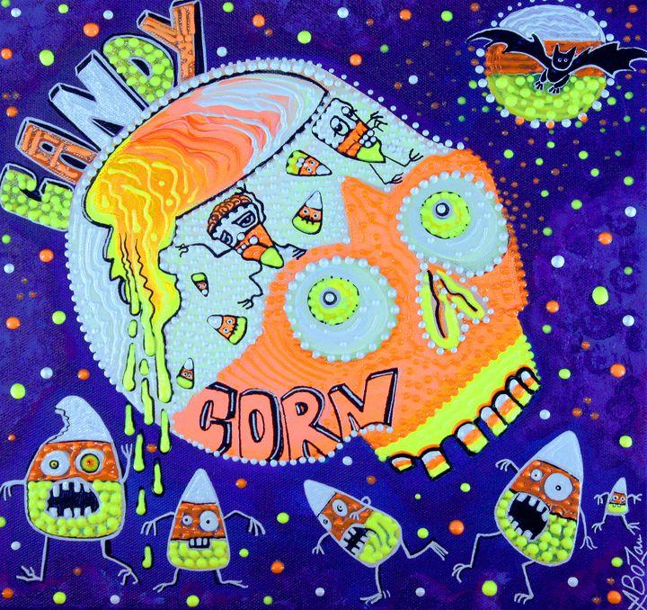 Haunted Candy Corn - Laura Barbosa Art