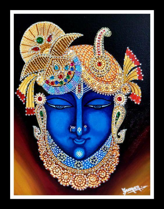 Lord shreenathji - Suman Jain(sun_creativess)