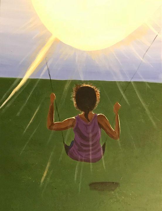 Swinging into the Sun - Wndrlnd Art