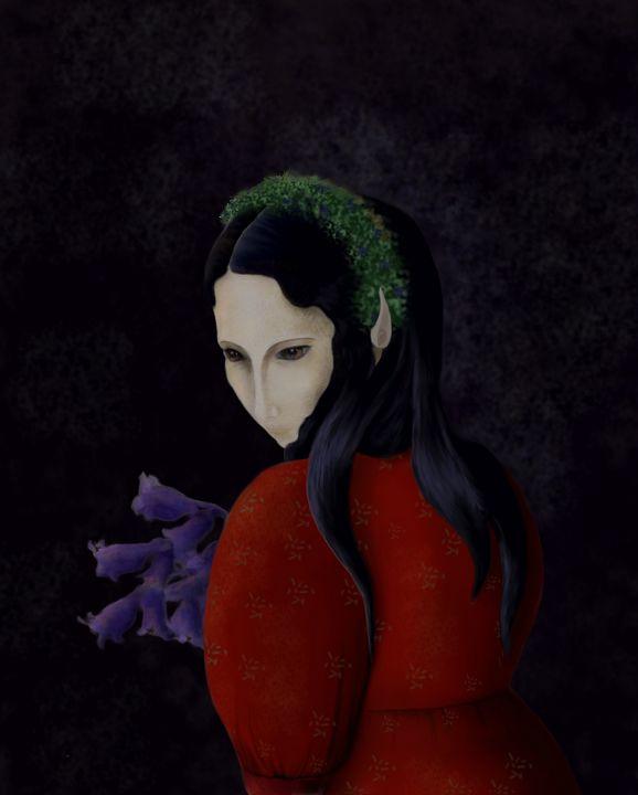 Flora - Beatriz Rivera Vargas Fine Art