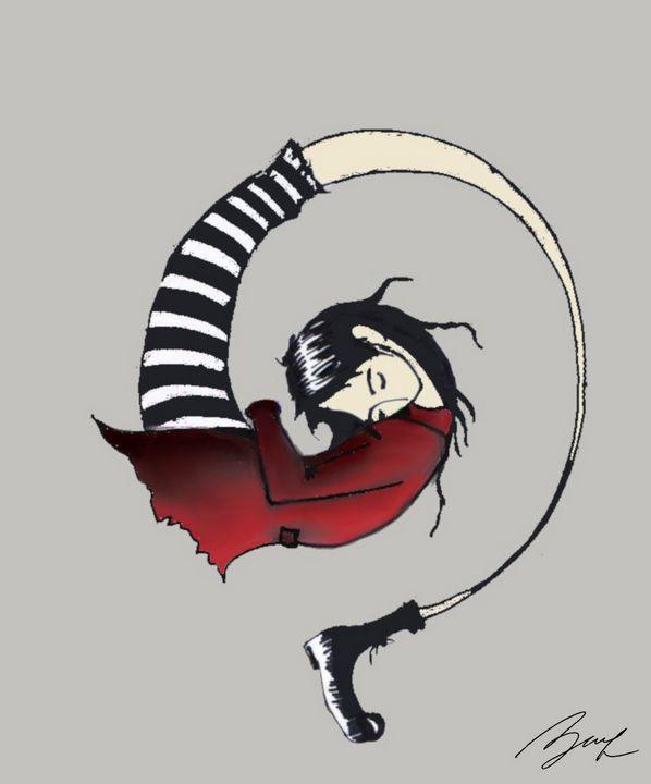 Spiral Girl - Beatriz Rivera Vargas Fine Art
