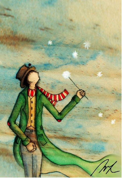 Dandelion - Beatriz Rivera Vargas Fine Art