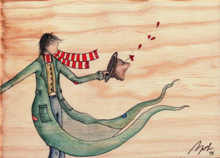 Against the Wind - Beatriz Rivera Vargas Fine Art