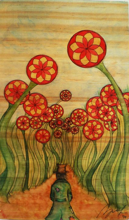 Into the Forest - Beatriz Rivera Vargas Fine Art