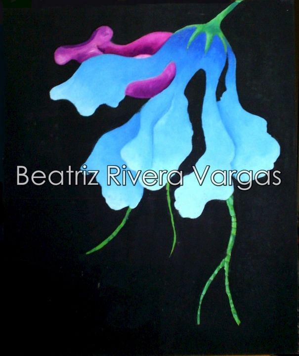 Night Orchid - Beatriz Rivera Vargas Fine Art