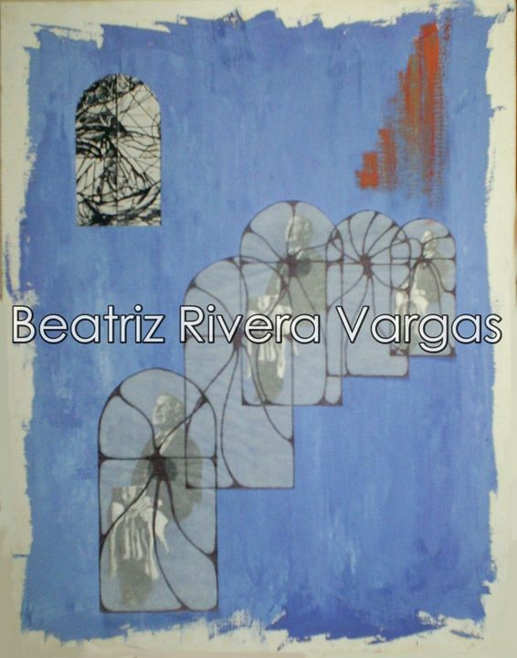 Little Priest - Beatriz Rivera Vargas Fine Art