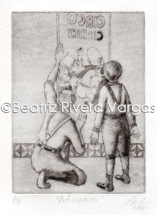 Anticipation - Beatriz Rivera Vargas Fine Art