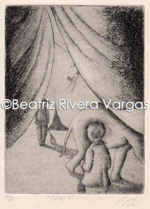 Circus II - Beatriz Rivera Vargas Fine Art
