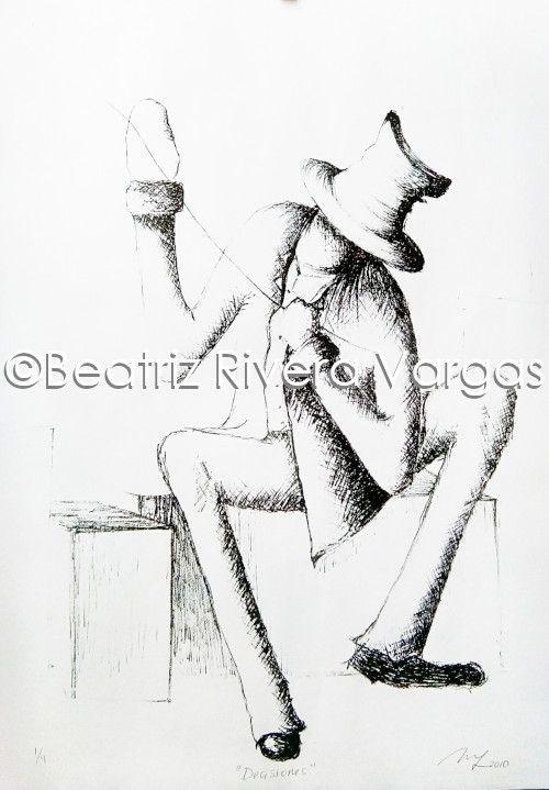 Decisions - Beatriz Rivera Vargas Fine Art