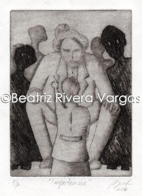 Impotence - Beatriz Rivera Vargas Fine Art