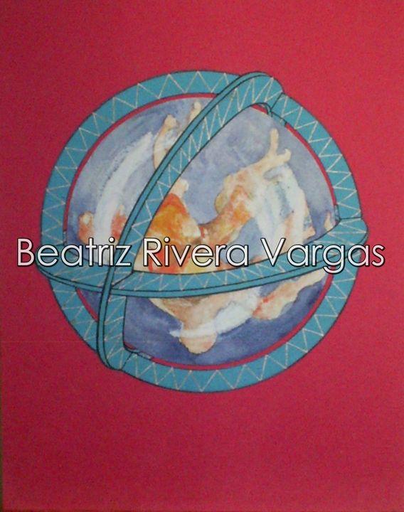 Coral World - Beatriz Rivera Vargas Fine Art