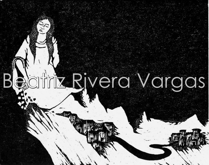 Paisaje Nocturno - Beatriz Rivera Vargas Fine Art