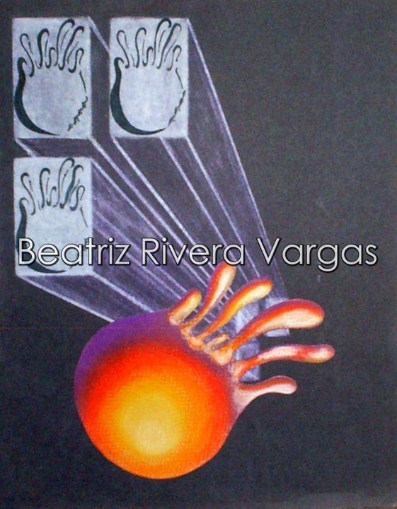 From Space - Beatriz Rivera Vargas Fine Art