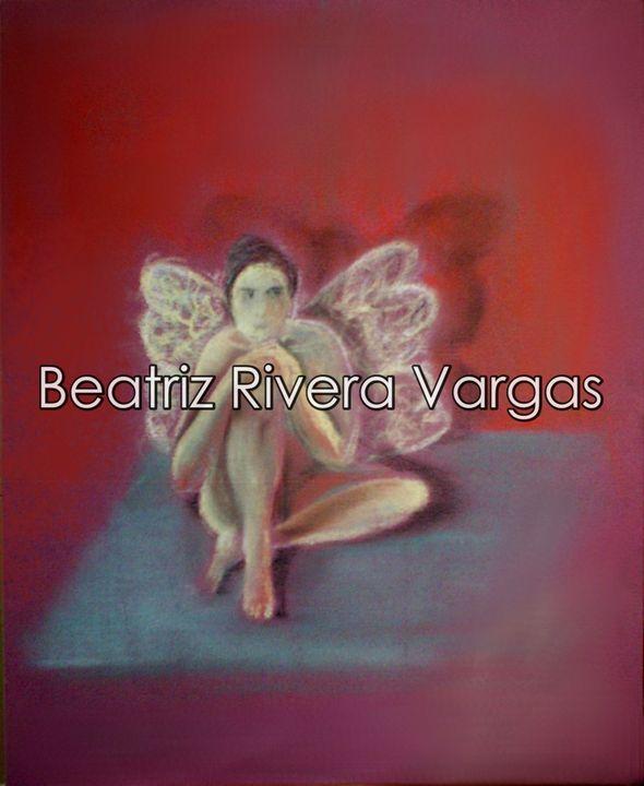 Red Fairies - Beatriz Rivera Vargas Fine Art