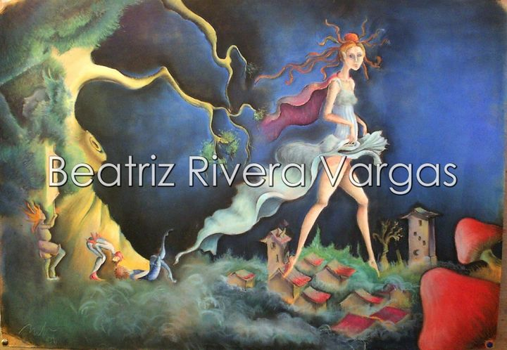 Samhain - Beatriz Rivera Vargas Fine Art