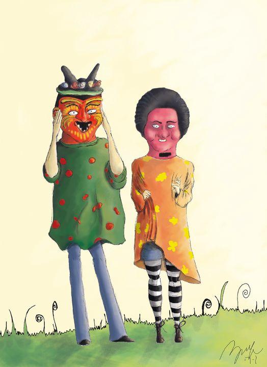Masquerade - Beatriz Rivera Vargas Fine Art
